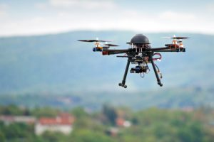 Drones for aerial photography and videography