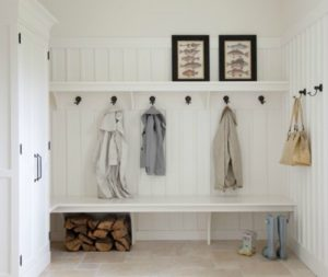 Equestrians love to have a mud room