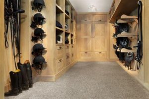 Organized Tack Room Layout